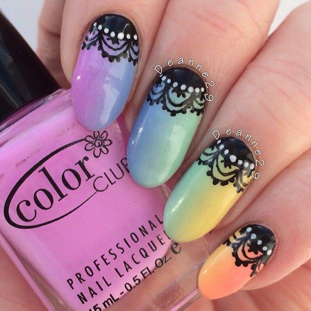 Best 148 rainbow nails ideas on pinterest nail scissors cute deanne29 nail nails nailart fancy nailscute nailsdiy solutioingenieria Choice Image