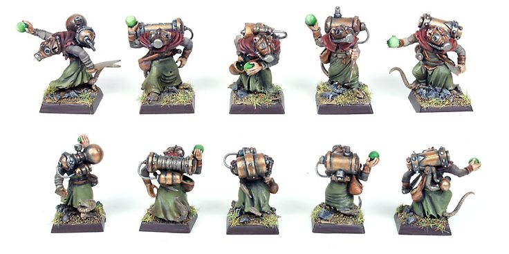 Marc Raley Miniatures: Skaven
