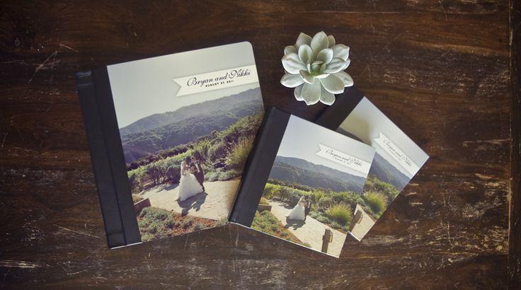 Wedding Album Cover. Photographer & Designer: Studio Lovejoy