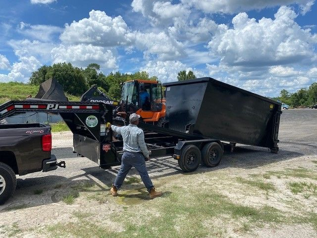 Lp82x12rdx 12 6 10 X 12 Low Profile Dump Trailer 12 000 Gvw With 5 06 Cubic Yard Capacity Dump Trailers Trailer Dumped