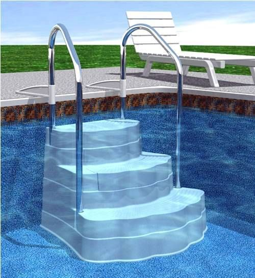 24 Best Swimming Pool Ladders Swimming Pool Hand Rails