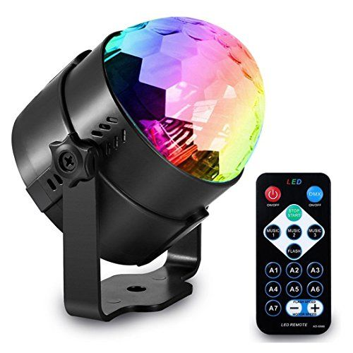Delightime Party Lights - LED Strobe Light with Remote Control - Suitable for DJ, Disco, Stage, Birthday, Dancing, Wedding, and Kids Lighting - Compatible as Outdoor Lights Party Decorations  ✔ 🌈 EVERYDAY PARTY LIGHT - Our Delightime Strobe Light is great for any occasion and event! May it be a simple get-together, birthday, wedding, slumber party, stage lighting, DJ lights, night light, or a kid's toy, you can use it every day! You can party all you want with its long working ...