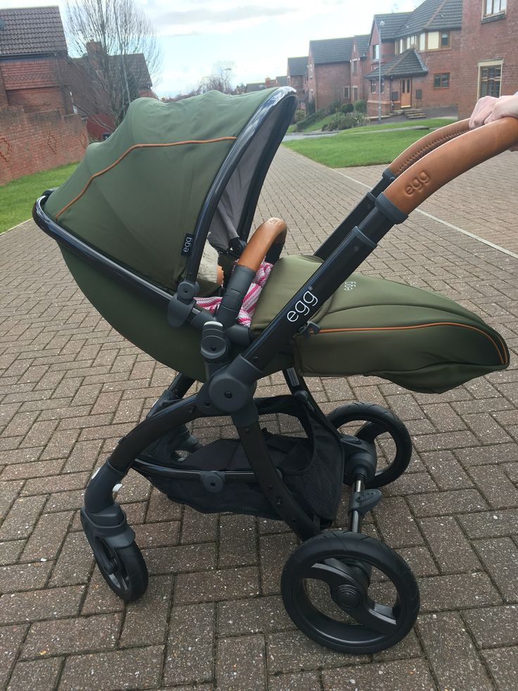 The new Egg Pushchair:)