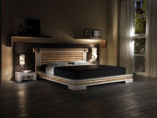 Bambus Futon Bett Yoko Schlafzimmer