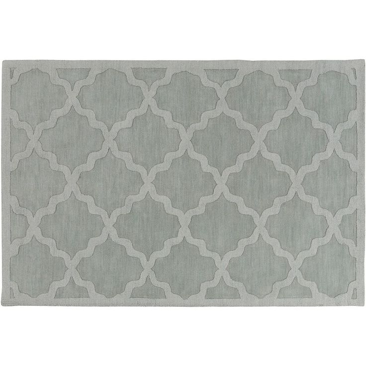 Surya Central Park Abbey Trellis Rug, Blue