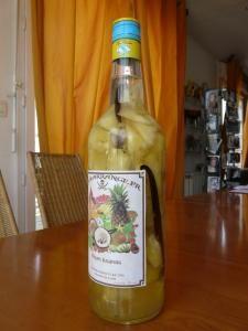 Rhum Ananas - Recette, préparation et conseils sur Rhum arrangé .fr