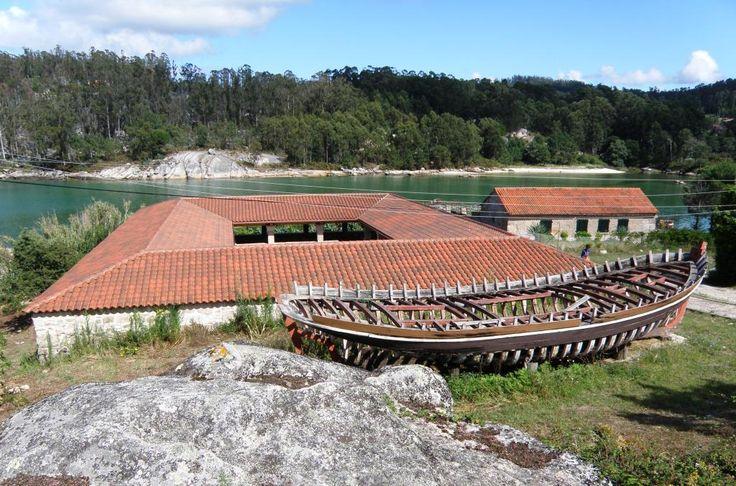 Goday factory. Fábrica de Salazón de O'Grove. Pontevedra. Galicia Spain