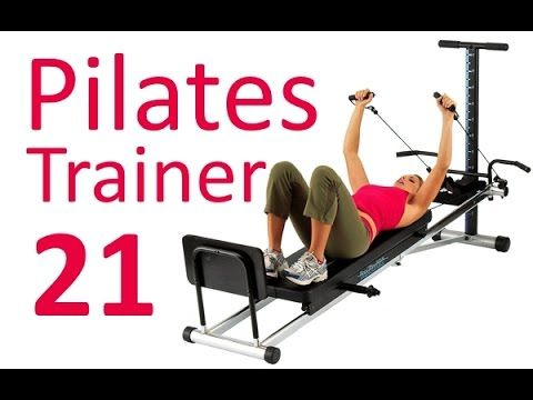 Pilates Workout for Total Gym & Reformer No.21 (by Ultimate Pilates, Sydney) Physical Exercise - YouTube