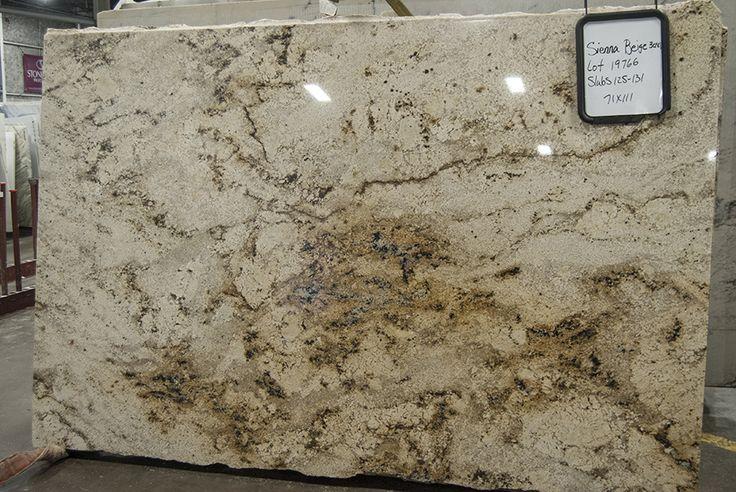 Sienna Beige Polished Granite Countertops Granite
