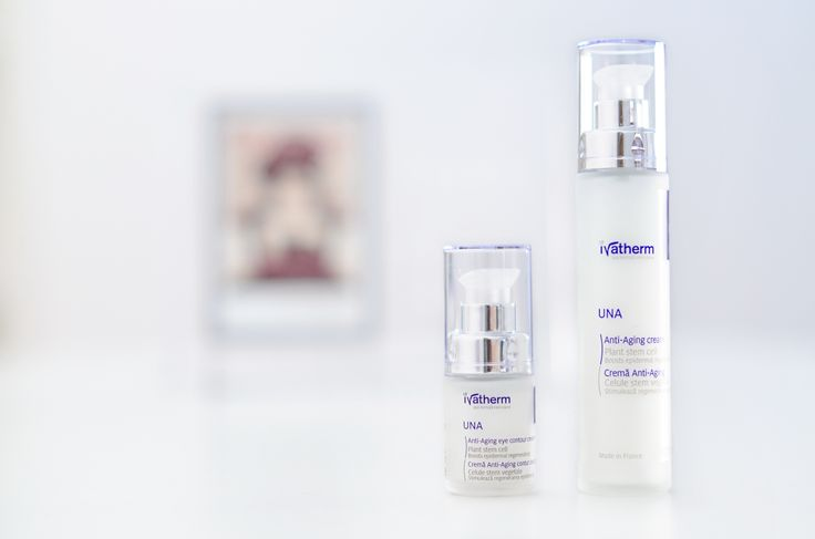 UNA Anti-ageing Cream, Face & Eyes #ivatherm #plantstemcell #wrinkles #antiageing #beauty #dermatocosmetics #herculanethermalwater