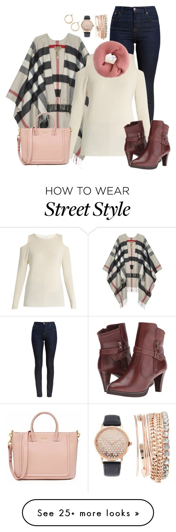 """""""A Winter's Style!!!"""" by gina-sotirop on Polyvore featuring Burberry, Barbour, Velvet by Graham & Spencer, Walking Cradles, Jessica Carlyle and Nordstrom"""