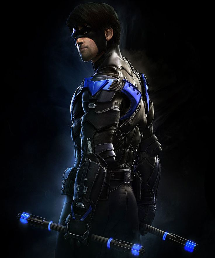 Nightwing for Batman Arkham Knight Game