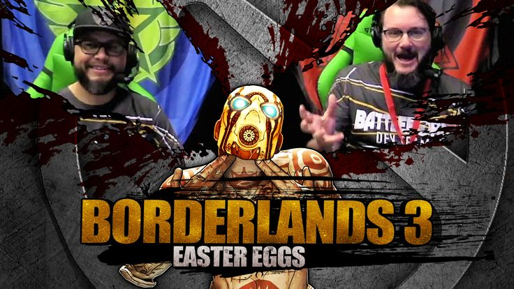 During the Choctaw Festival of Gaming Livestream the development team reacts to the Borderlands 3 Easter Egg Discovery.