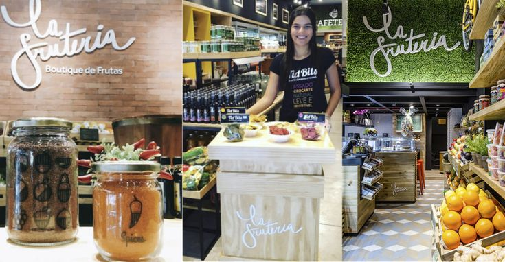 La frutería es una cadena de establecimientos de Rio de Janeiro.