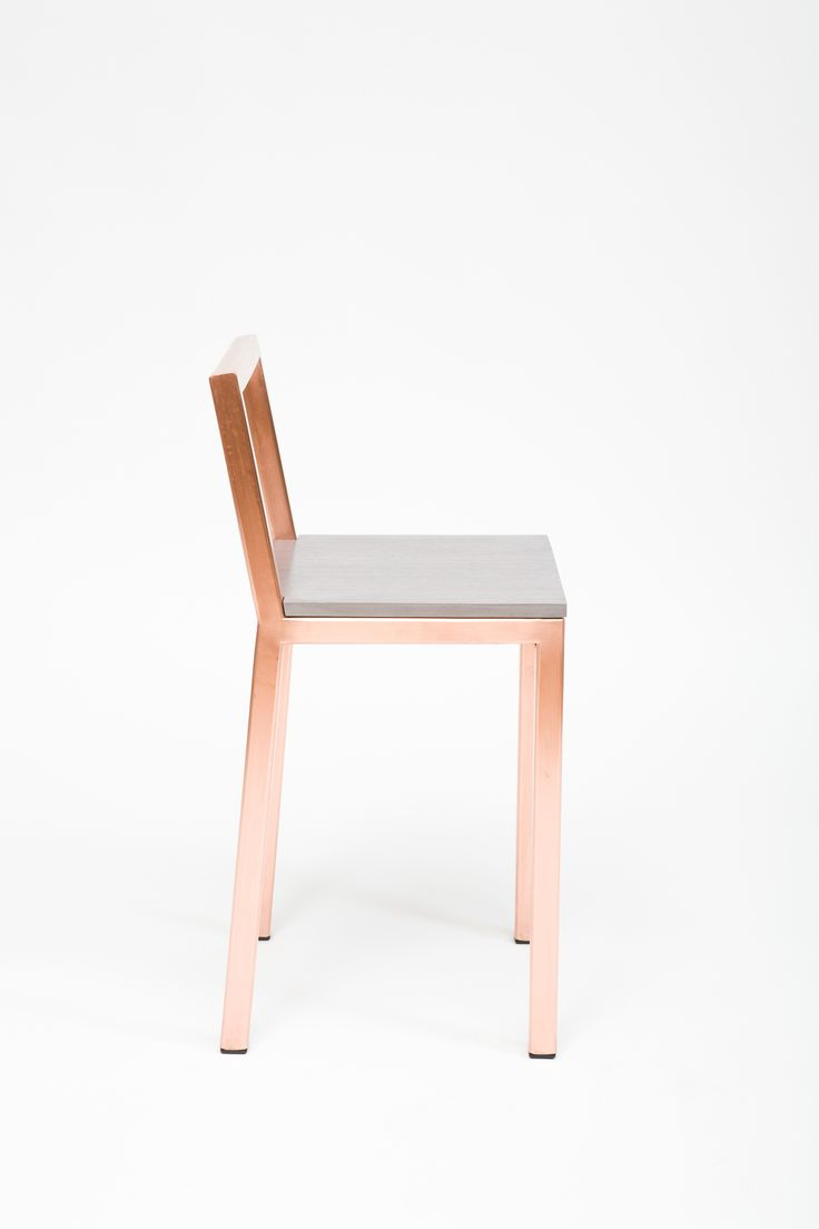 Copper Slight Chair / Assembly Design