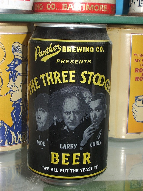 the three stooges beer by Johnny Dollar, via Flickr