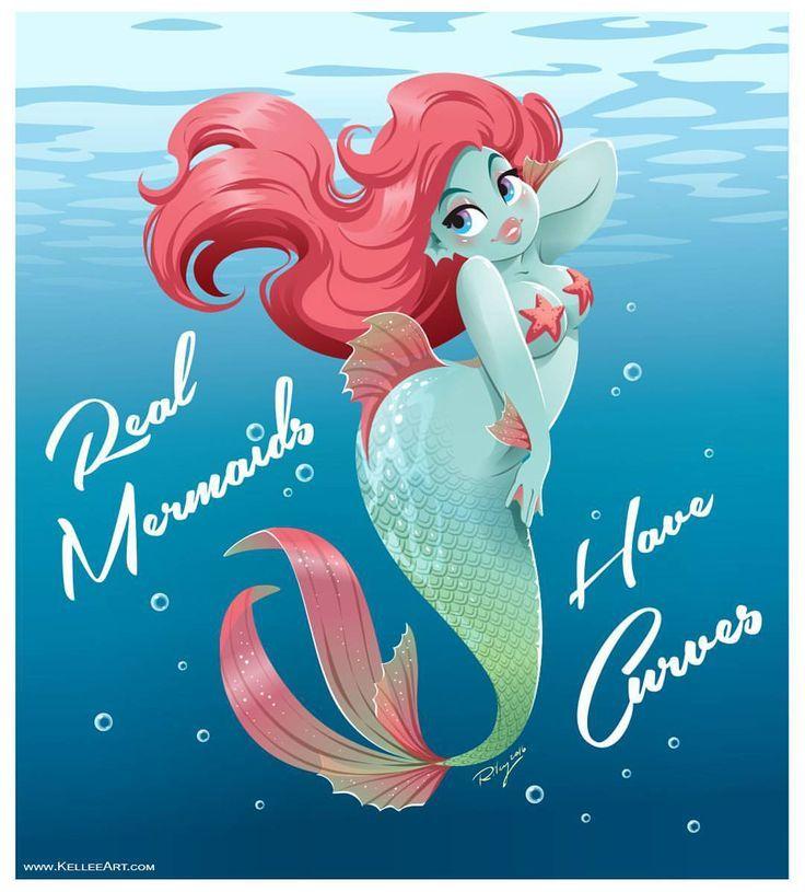Real mermaids have curves