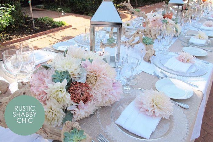 Mise en place - idee per i tavoli di nozze