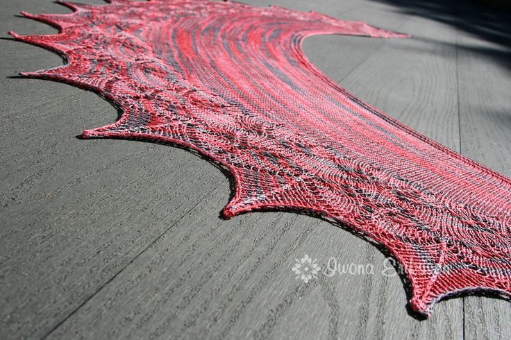 Ravelry: Sorberry Shawl pattern by Iwona Eriksson