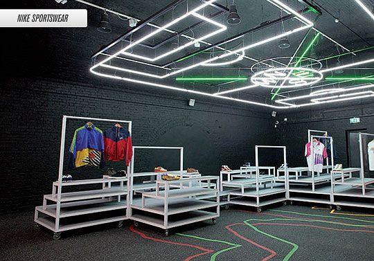 Retail Design | Store Interiors | Shop Design | Visual Merchandising | Nike store in London