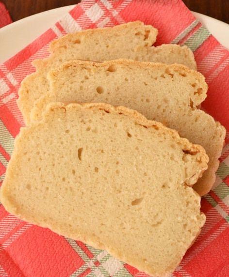 Nutrição Funcional - Pão sem glúten e sem ovos