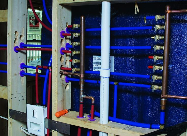 8 best pex images on pinterest pipes pipes and bongs for Pex water lines vs copper