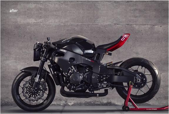 Graças a este kit incrível feito pelo Huge, agora você pode transformar a sua Honda CBR1000RR em uma moto de corrida de rua espetacular. O Kit Personalizado para Moto do Huge permite personalizar qualquer Honda CBR1000RR desde 2008 até hoje