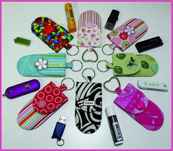 Schlüsselanhänger Taschen Muster zu DIY Nähen von UndercoverQuilts
