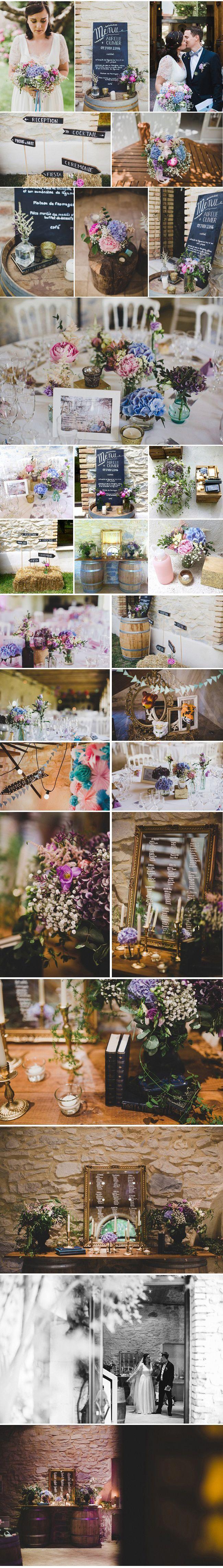 Décoration de mariage en rose et bleu en Provence, fête champêtre en Avignon, Big Day Wedding Designer, décorateur évènementiel et floral dans le 13 84 83 30