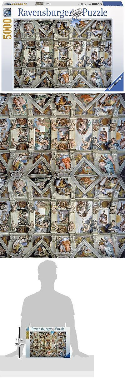 Jigsaw 19183: Ravensburger Sistine Chapel - Puzzle (5000-Piece) -> BUY IT NOW ONLY: $68.81 on eBay!