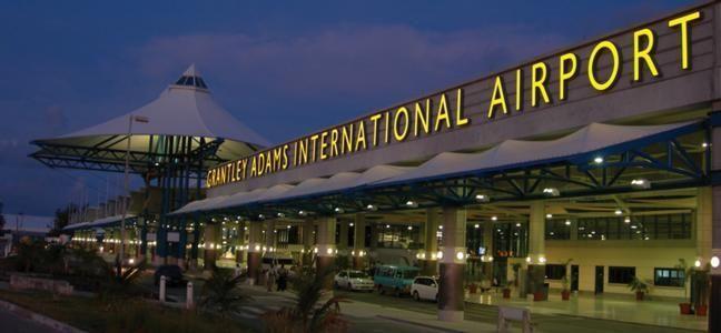 Grantley Adams International Airport , Barbados