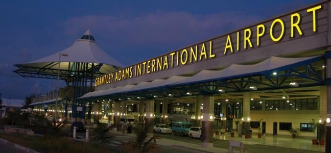 Grantley Adams International Airport , Barbados