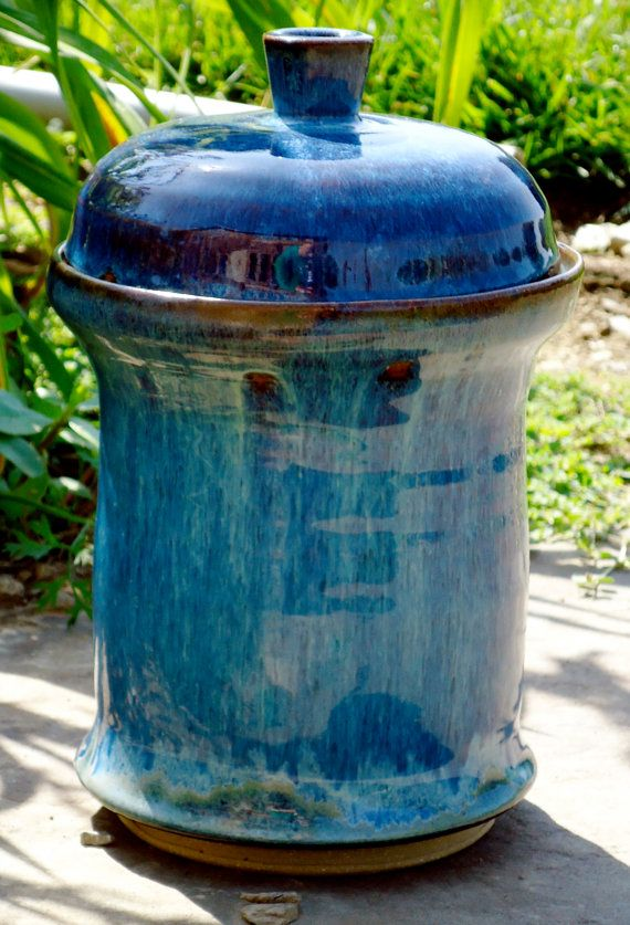 fermenting crock by EarthandSkyStudio on Etsy