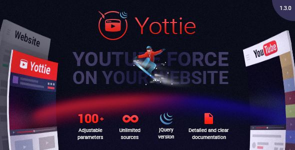 #jQuery YouTube #Plugin - Yottie