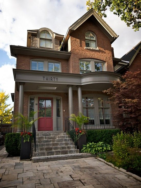 17 Best Images About Trim For Red Brick On Pinterest