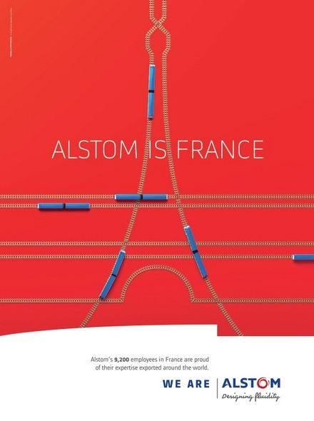 Nouvelle campagne « We are Alstom » - Campagne de pub - l'ADN