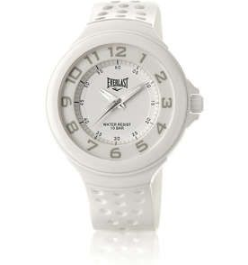 Relógio Analógico Unissex Branco Everlast Esportivo