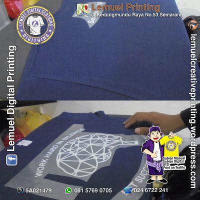 Custom Sablon Kaos Satuan Cutting Carbon PolyFlex Berkualitas Dengan Desainmu Sendiri By DIGITHING