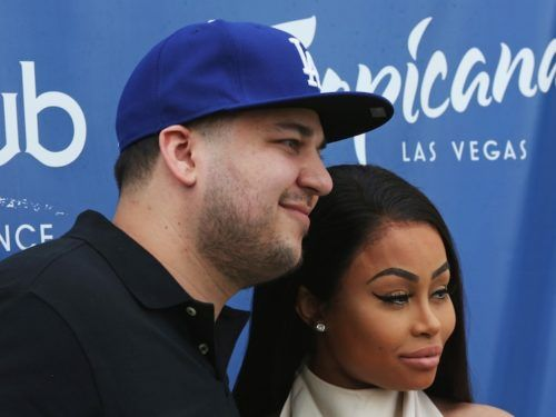 Rob Kardashian and Blac Chyna are back on, and they posted the cutest holiday pic to prove it