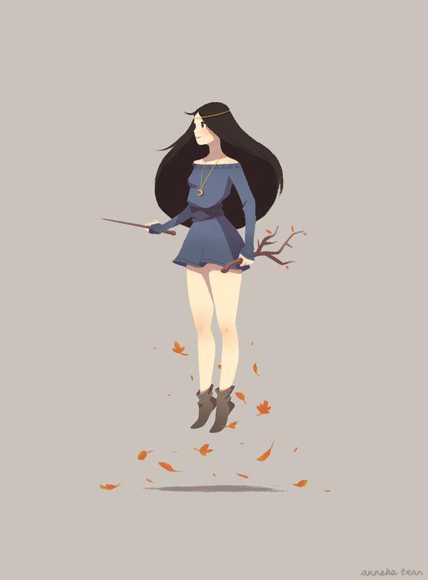 Witch by enkana.deviantart.com on @DeviantArt