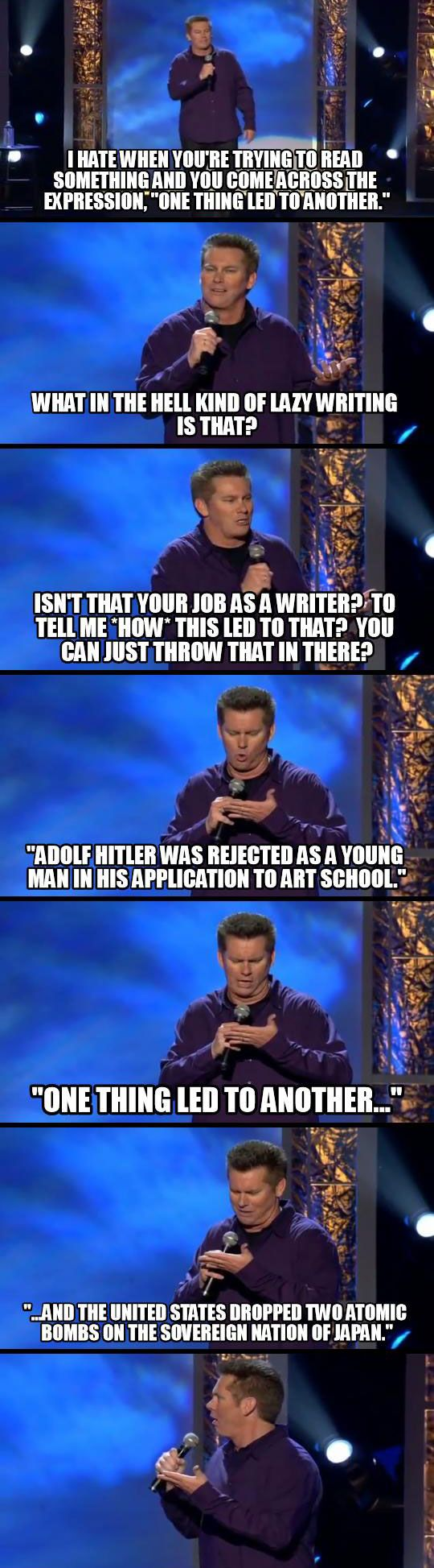 Writers might appreciate this... or they might kill me. But I don't care because BRIAN REGAN
