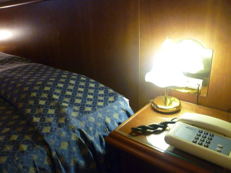 l'angolo notte in camera per la Vs intimita' Hotel Minerva Pordenone