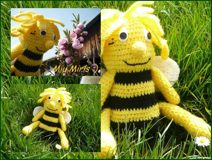 https://www.facebook.com/groups/1466194333610982/    Maya the Bee... :*   *crochet maya*