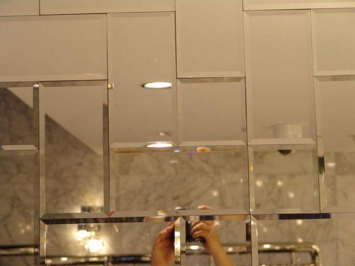 Beveled Mirror Wall Tiles, Glass Mirror Wall Tiles