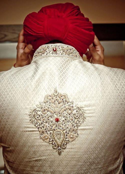 Desi Weddings - the groom... details