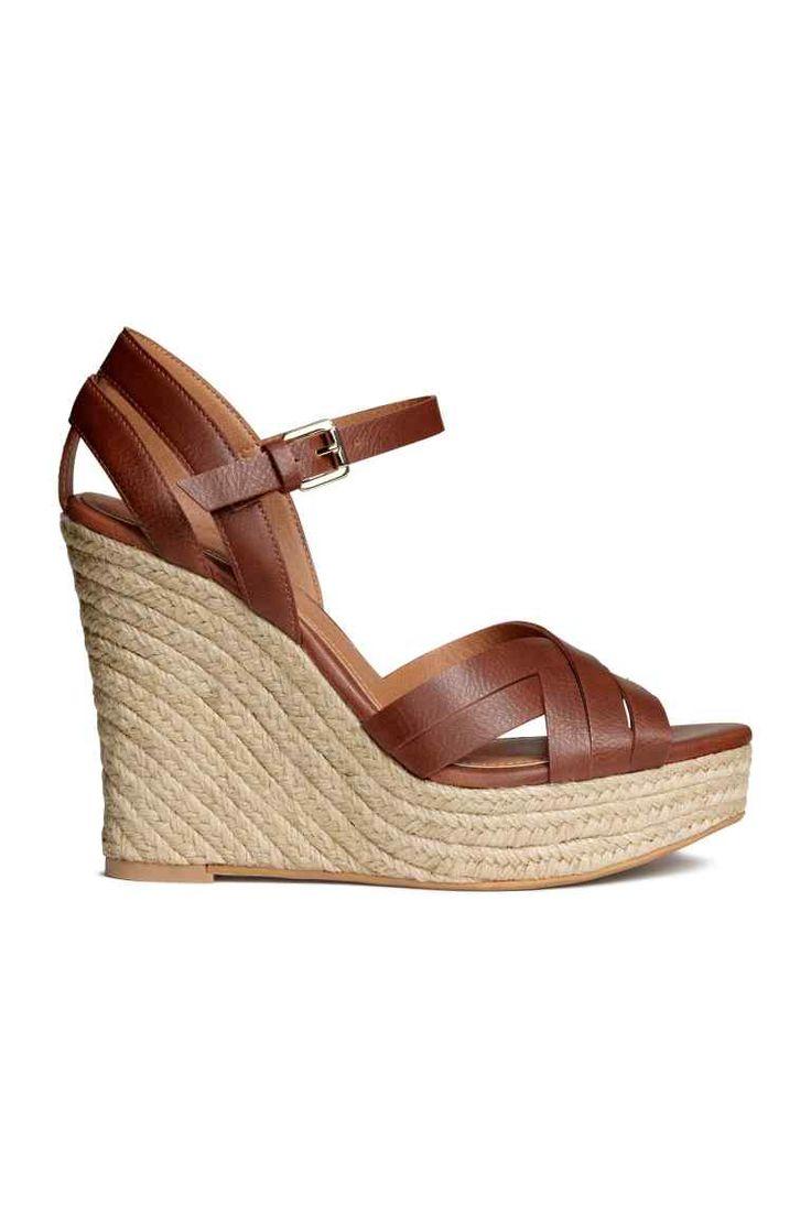 Wedge-heel sandals | H&M