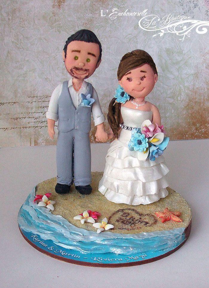 25 beste ideeën over Figurines de mariage op Pinterest
