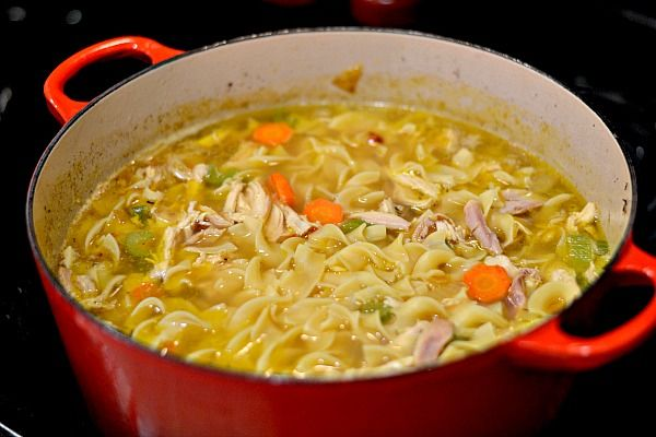 medium sized shoulder bags Homemade Chicken Noodle Soup  Recipe