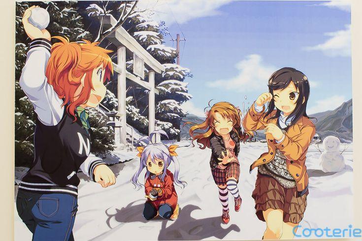 Non Non Biyori Original Illustrations, Manga ver.