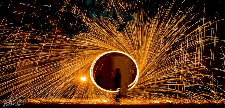 Spectacle de Feu Son et Lumières de Terres d'Aurea 2015